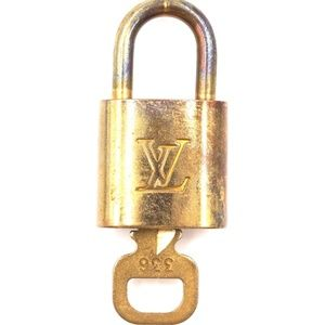 Gold Lock Keepall Key Set #336 Bag